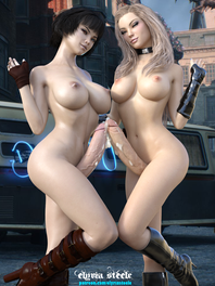 Lady and Trish are ready to get in on the action.