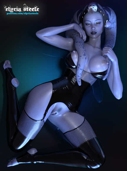 May the 4th be with you!  An unwatermarked version of this picture (plus a futa variant) is available on my Patreon at the $1 tier, and a 4K version of each (plus a horsecock variant) is available at the $3 tier.