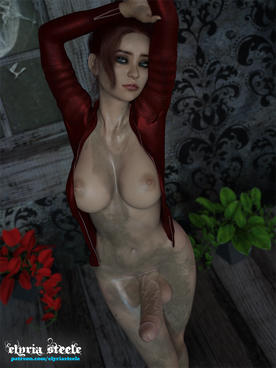 Claire Redfield is a Dirty Futa with Wat