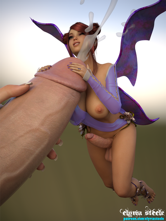Petunia the fairy is always happy to lend a helping hand (or two).