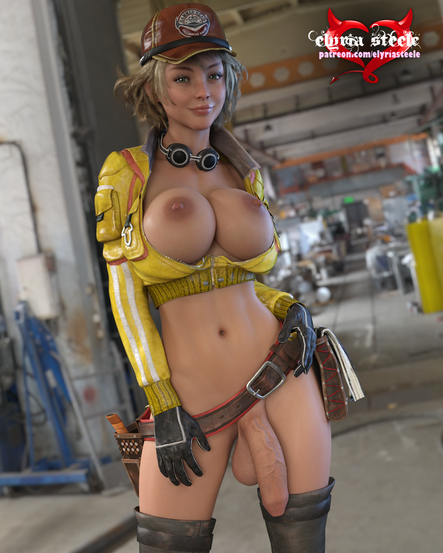 An unwatermarked version of this picture plus an unwatermarked female variant are available on my Patreon at the $1 tier, and 4K versions of each plus an erect and horsecock variant are available at the $3 tier.