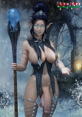 A picture of Mother Winter, in celebration of the first day of winter.