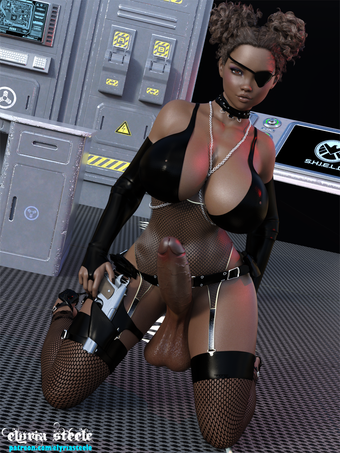Nicky Fury, from Earth 696969, is ready for her next mission.