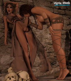 Kelleigh had always found protecting Princess Amara's life to be extremely arousing, but finally satisfying her with her mouth was incredibly satisfying.