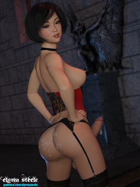 Ada Wong from Resident Evil 2.