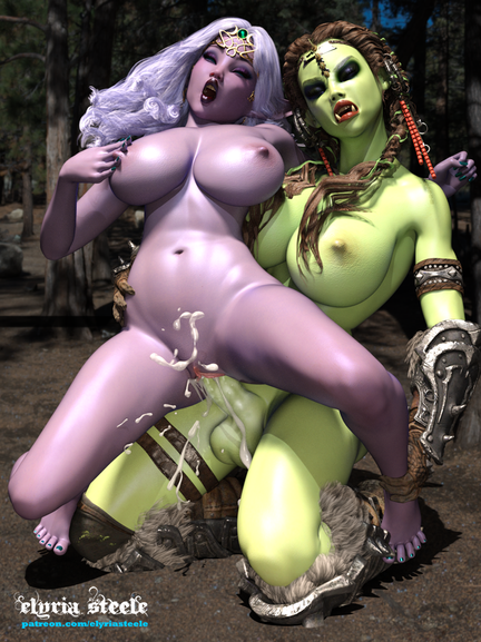 """Shayka """"saves"""" Kharissa while she's out questing."""