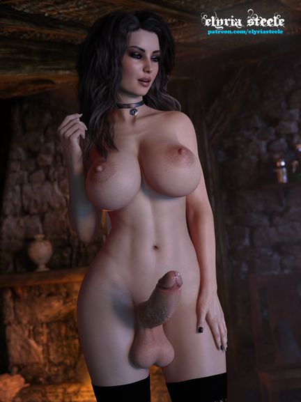 An unwatermarked version of this picture is available on my Patreon at the $1 tier and a 4K version (plus horsecock and female variants) is available at the $3 tier.