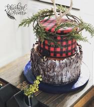 buffalo plaid and log rustic cake.jpg