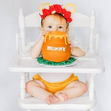 Honey Pot Smash Cake