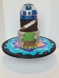 Star Wars Mashup Cake
