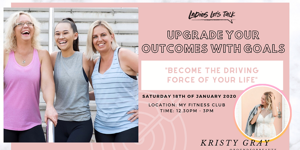 Upgrade your outcomes with goals