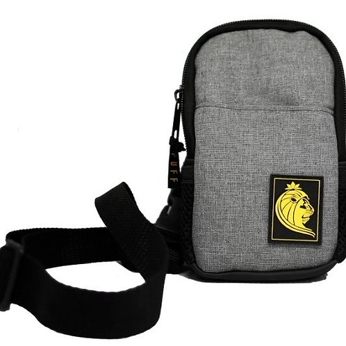 Shoulder Bag Puff Life Mini Cinza