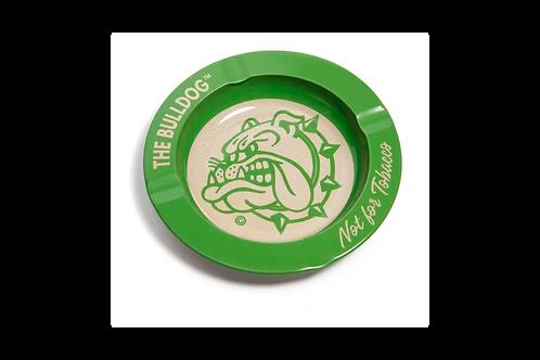 Cinzeiro The Bulldog Metal Verde