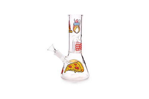 Bong de Vidro Ice Percolator PIZZA Squadafum