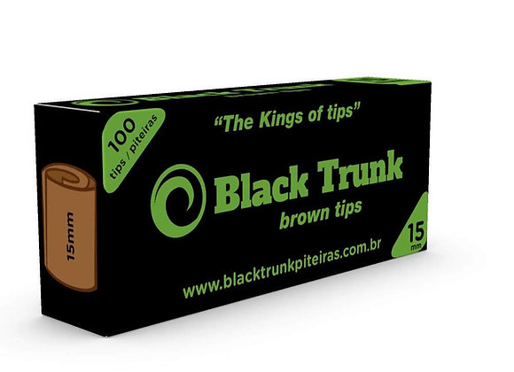 Piteira Black Trunk Brown 15mm