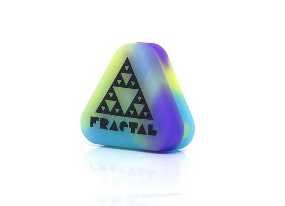 Pote de Silicone Flúor Triângulo - Fractal Mixing
