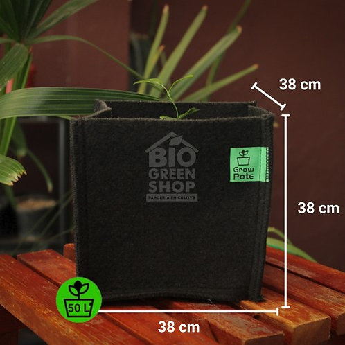 Vaso de Feltro Grow Pote 50 Litros