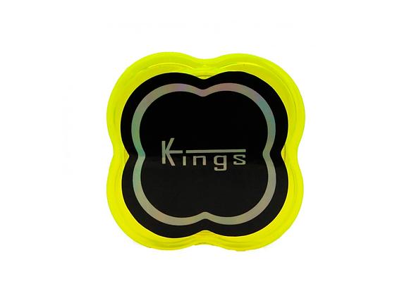 Triturador de Policarbonato Kings Grande AMARELO