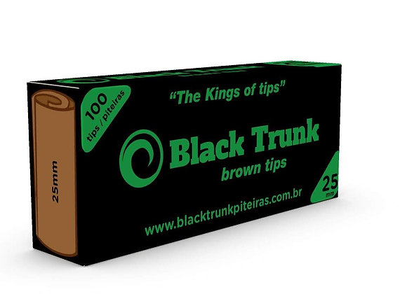 Piteira Black Trunk Brown 25mm