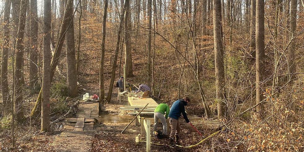 Hobby Park - Trail Work Day
