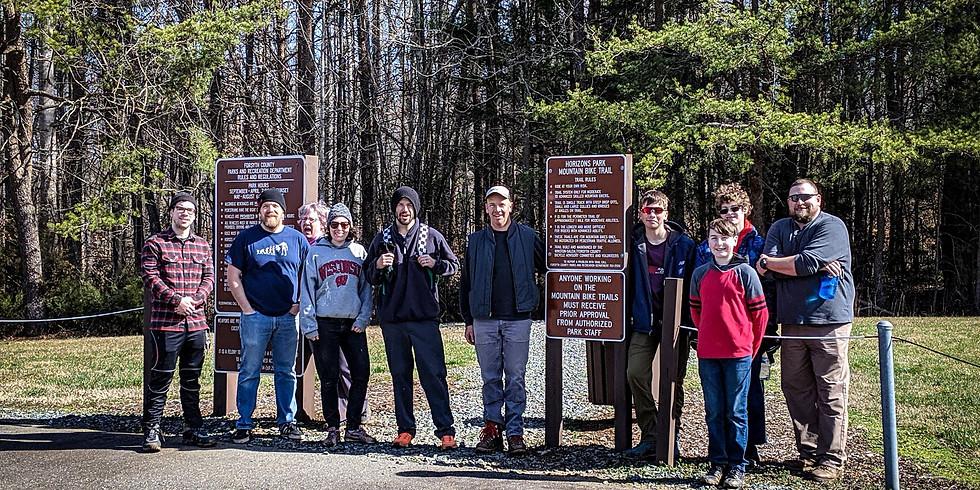 Horizons - Trail Work Day