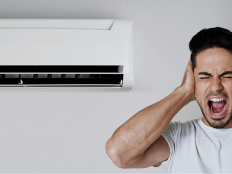 How to take care of noise coming from air conditioners?