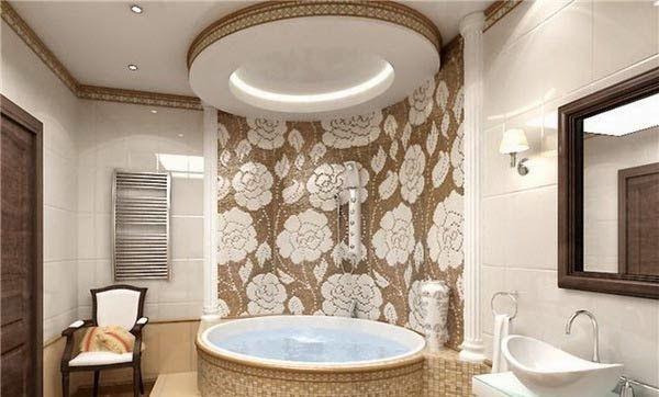 What Are Bathroom False Ceilings?