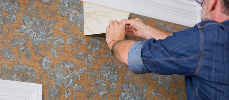 Want to Know If Wallpaper or Wall Covering Peels Out Easily? We have the answers.