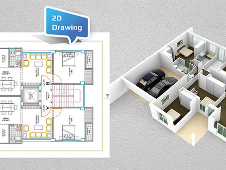 How Are 3D Photos Better Than 2D Drawings For Home Interiors?