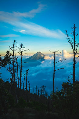 Climbed to Mount Acatenango, Guatemala.j