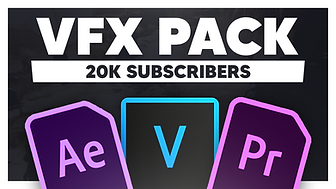 (20K) FREE VFX Editing Pack   200+ Video Elements, SFX, Fonts & LUTs - Vegas Pro / After Effects