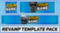 Gaming Revamp Pack | Free Photoshop Template [YouTube Banner, Twitter Header & Avatar]