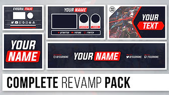 (10K) Complete Social Media Rebrand Pack   Free Photoshop Template [Avatar, Banner, & More]
