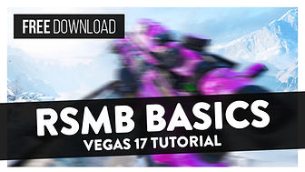 How To Use ReelSmart Motion Blur (RSMB Basics) -  After Effects & Vegas Pro 17 Tutorial