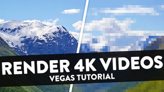 How To Render 4K Videos for YouTube 2018 (NVENC GPU Acceleration) - Vegas Pro 15 Tutorial