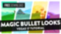 Magic Bullet Looks Plugin Basics (FREE MBLooks CC Presets) -  Vegas Pro 17 Tutorial