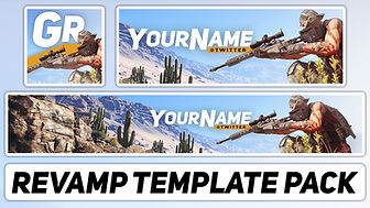 Ghost Recon: Wildlands Revamp Pack   Free Photoshop Template [YouTube Banner & Avatar]