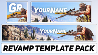 Ghost Recon: Wildlands Revamp Pack | Free Photoshop Template [YouTube Banner & Avatar]