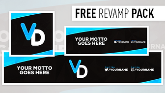Abstract Multicoloured Revamp   Free Photoshop Template [a, Banner & Header]