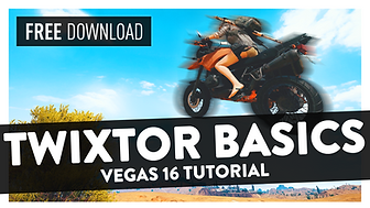 How to Get Smooth Slow-Mo with Twixtor (24/30 fps Clips) -  Vegas Pro 16 Tutorial