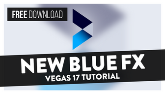 How To Use NewBlueFX Basics (Free Download) -  Vegas Pro 17 Tutorial