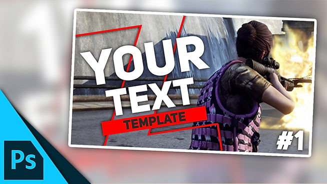 H1Z1: King of the Kill Thumbnail Template | Free Photoshop Template [YouTube]