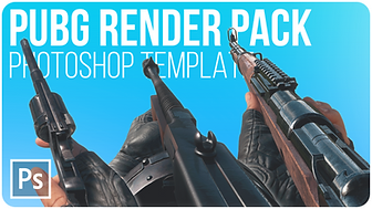 PUBG Render Pack Stocks   Free Photoshop Template [4K, All Weapons, Vehicles, PSD & PNG]
