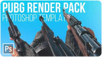 PUBG Render Pack Stocks | Free Photoshop Template [4K, All Weapons, Vehicles, PSD & PNG]