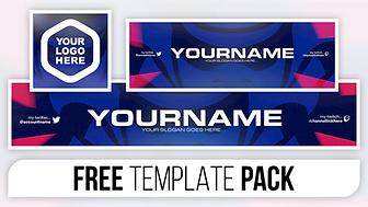 Clean Samurai Style Revamp Pack - FREE Photoshop Template [Banner, Header & Logo]