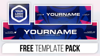 Clean Samurai Style Revamp Pack - FREE Photoshop Template [Banner, Header & Logo]