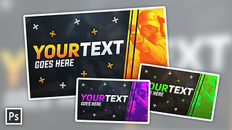 Gaming Thumbnail Template   Free Photoshop Template [Fully Customisable]