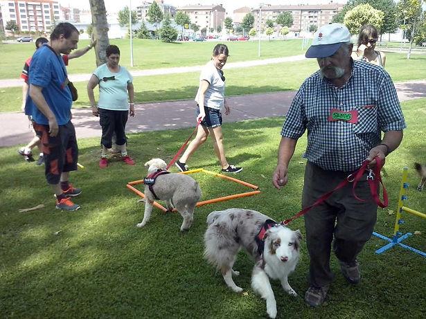 Dejando Huella Terapia Canina