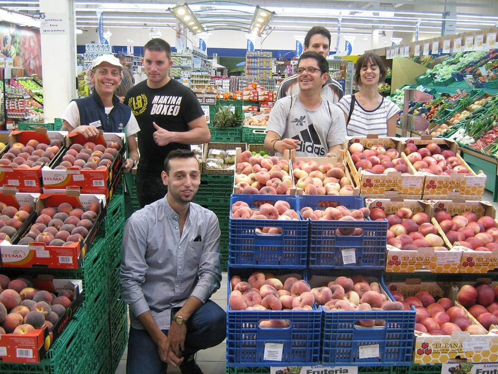 Visita a Supermercado Leclerc