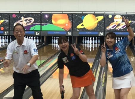 EーBOWLトマト西宮2周年記念 大根谷 愛 ゲストプロチャレンジ